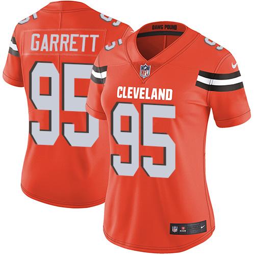 cheap sports jerseys online Women\'s Cleveland Browns #95 Myles ...